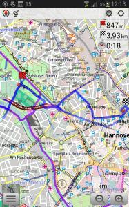 OSMand Navigation
